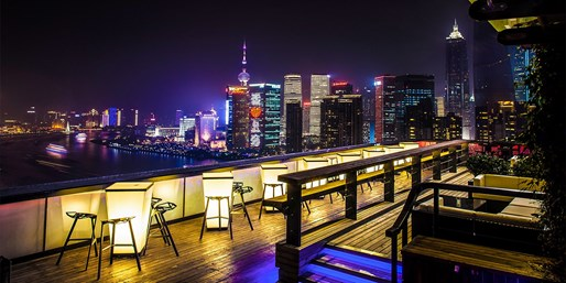 "$150 -- Shanghai: 5-Course Dinner for 2 w/""Incredible"" Views"
