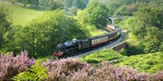 £32 -- Award-Winning Steam-Train Day Trip for 2 in Yorkshire