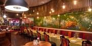 ¥398 -- 树篱光影间的浪漫花园  The Garden Restaurant双人5道式晚餐 赠百香果饮