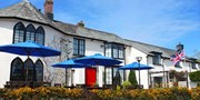 £89 -- Devon: 17th-Century Hotel Stay inc Meals, Save 53%
