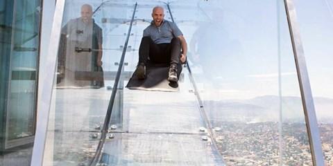 $132 -- 潮玩美國 登上 Skyspace 玻璃觀景台 360 度鳥瞰洛杉磯