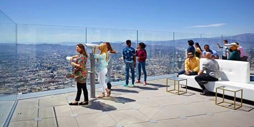 OUE Skyspace: 1,000-Ft. Observation Deck & Outdoor Slide