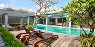 ¥30,550 -- 42%OFF バリ島4.5星プール付240平米ヴィラ 3連泊 朝食&送迎&ディナーなど特典付