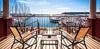99 € -- Istrien: 3 Urlaubstage am Yachthafen & Menüs, -46%