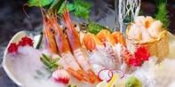 ¥498 -- 舌尖上的海底世界 彩真活鱼双人日料 尝整条活龙鱼刺身+帝王蟹腿+老虎鱼