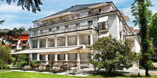 15 € -- Baden-Baden: Schlemmerfrühstück im renovierten Hotel