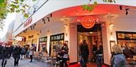 34 € -- Sonntagsbrunch für 2 mit Musik im Hard Rock Cafe