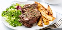 £28 -- Guildford Brasserie: Steak Meal & Bubbly for 2