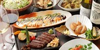 ¥208 -- 东京银座8道式日式铁板烧套餐 黑毛和牛牛排+海鲜 可升特级牛排