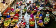 $25 -- Day Tour to Bangkok's 'Most Famous' Floating Markets