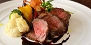 ¥4,300 -- 50%OFF A5黒毛和牛・トリュフほか高級食材フレンチフルコース全8品ディナー 三越前の隠れ家で