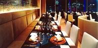 ¥6,500 -- 57%OFF 銀座スワロフスキービル最上階ディナー 前菜~デザートまで高級トリュフづくし 夜景一望で