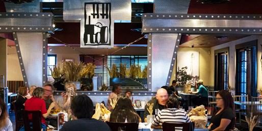 $35 -- Hash House A Go Go Henderson: Dinner for 2, Reg. $55