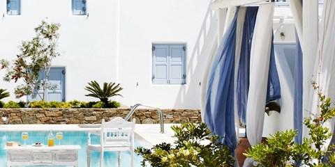 Dsd 105€ -- Oasis griego: noche junto al mar en Mikonos