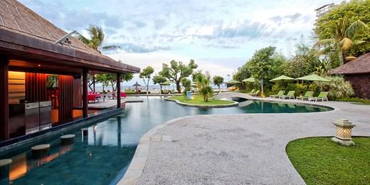 $249 -- Bali: Deluxe 3-Night Beach Break w/Upgrade, 60% Off