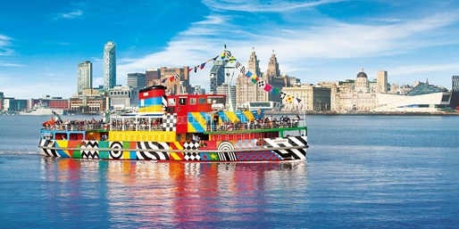 £10 -- Mersey Ferry Ticket plus Entry to Two Attractions
