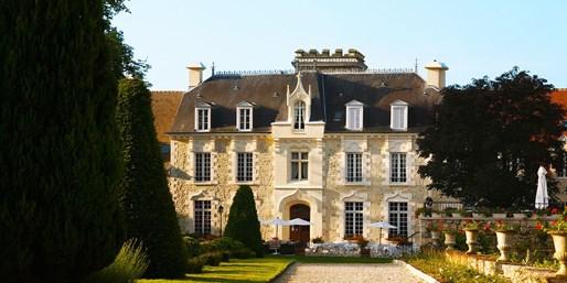 215 € -- 5*-Schlosshotel in Frankreich mit Pool, statt 330 €