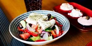 $59 -- Surry Hills: 8-Dish Greek Banquet w/Wine, 53% Off