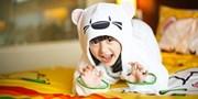 ¥584起 -- 洲际旗下假日酒店欢乐童趣包价 住萌熊BOOMi主题房+2大1小早餐+欢迎礼包