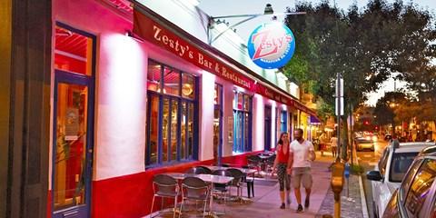 $49 -- Zesty's: Zagat-Praised Mediterranean Dinner, 50% Off