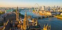 ¥888 -- 7.9折 伦敦30分钟直升机之旅 Elstree机场起飞 高空欣赏标志性景点