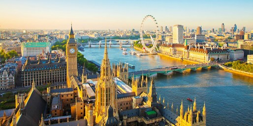 £79 -- 30-Minute Helicopter Ride over London, 36% Off
