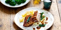 £35 -- 'Delicious' 2-Course Meal & Bubbly for 2, 39% Off
