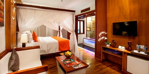 £149 -- Bali: 3-Night Seminyak Stay in Suite, Save 49%