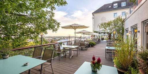 39 € -- Wunschmenü für 2 mit tollem Blick über Frankfurt