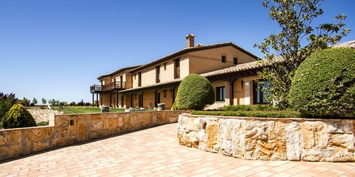 79€ -- Hotel rural 5* en Valladolid con cena para dos, -36%