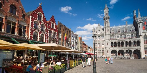 $82 & up -- Bruges: Canal-View Stay w/Breakfast, Save 45%
