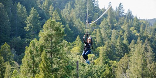 $159 -- Sonoma County: Zip-Lining for 2 w/Video, Reg. $273