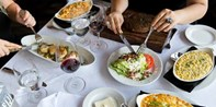 $69 -- III Forks: Steakhouse Dinner for 2, Half Off