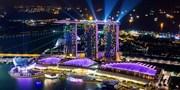 ¥133,800 -- 関西発 ビジネスクラス×W5つ星ホテル泊シンガポール&香港ツアー
