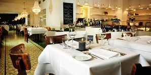 49 € -- Feinschmeckermenü im coolen Restaurant nahe Ku'damm