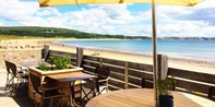 £59 -- South Wales: Beachfront 5-Course Meal for 2, 41% Off