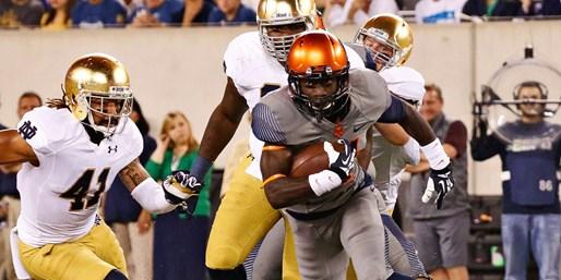 $55 -- Syracuse vs. Notre Dame Football at MetLife Stadium