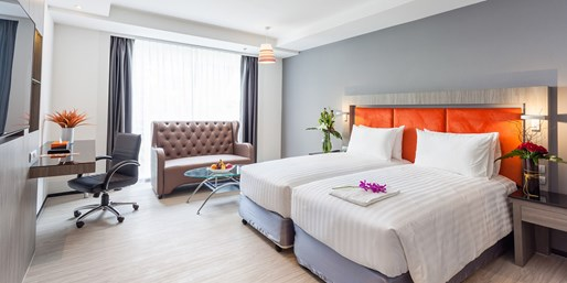 £45 -- Brand-New Bangkok Hotel inc Breakfast, Save 35%