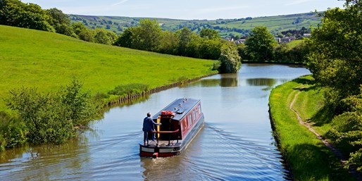 £28 -- Afternoon Tea & Canal Boat Cruise for 2, 64% Off