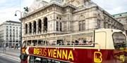 10 € -- Hop-on Hop-off: Stadtrundfahrt durch Wien, -47%