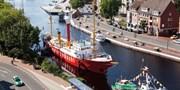 99 € -- 3 Tage in Emden mit Dinner & Otto Huus, -48%