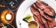 35 € -- Edles Bio-Rind beim argentinischen Lunch für zwei