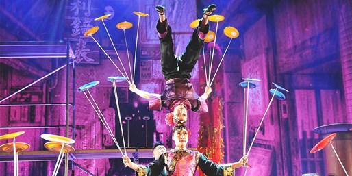 ab 20 € -- Chinesischer Nationalcircus: Shows in 10 Städten