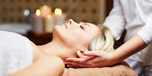 £49 -- Edinburgh Spa Treat w/Massage & Facial, up to 50% Off