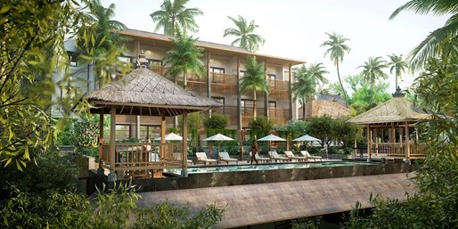 $269 -- 3-Nt Stay in Brand New Ubud Resort inc Spa, Save 47%