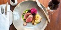 £45 -- 2-AA-Rosette Dinner for 2 at Tenby Restaurant
