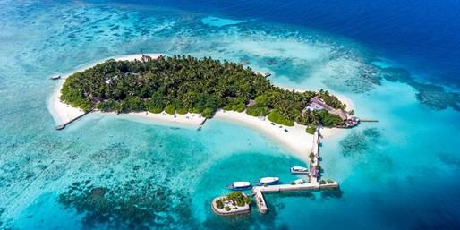 ¥10,768 -- 7.4折 马尔代夫浪漫假期 3晚海滨洋房+全包餐+往返快艇接送
