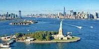 ¥1,368 -- 8.9折 纽约著名地标直升机观光之旅 赠体验照片 3条线路可选