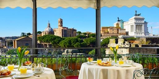 Dsd 119€ -- Roma: hotel 4* con vistas junto al Coliseo, -61%