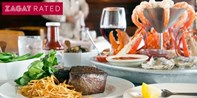 Spend $80 on Steak, Seafood, Cocktails and More